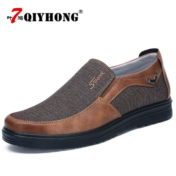 c60b6844c Outono Mais Recente Explosões Sapatos Masculinos Famosa Marca Sapatos de  Caminhada Das Sapatilhas Dos Homens Lona