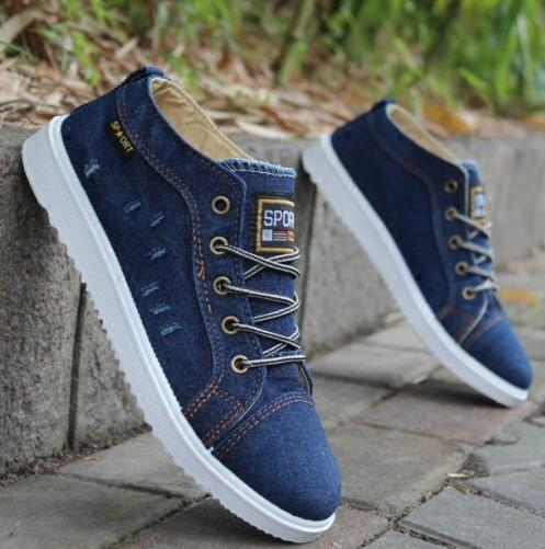 Summer Male Students Breathable Men's Canvas Shoes Korean Version Of The Tide Men's Shoes Sneakers