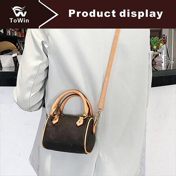 Classic Women PU Leather Pillow Bag Crossbody Stars Floral Pattern Shoulder Bags Handbags High Quality Famous Brand Messenger Bags