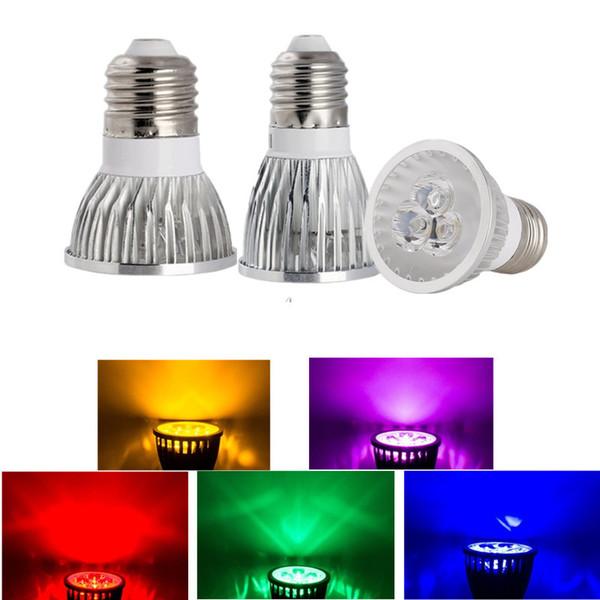 High Power Led Light Bulbs E27 MR16 Dimmable E14 GU5.3 GU10 Led Spot lights led downlight lamps