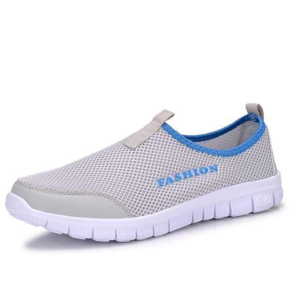 Summer Man Ma'am Motion Net Shoes Network Noodles Ventilation Leisure Time Two Pedal Light Run Shoe