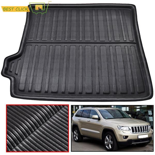 Car Rear Trunk Liner Cargo Boot Mat For Grand Cherokee WK2 2011-2013 2014 2015 2016 2017 2018 Floor Tray Carpet Mud Kick