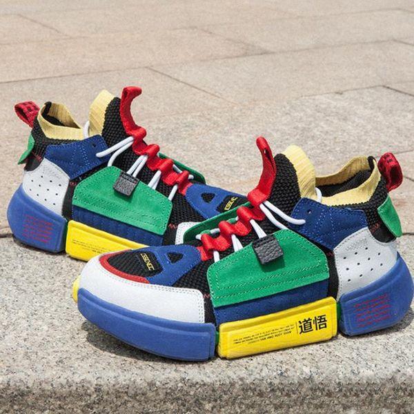 Chaussure de Designer Way of Wade Enlightenment 2 Basket Chaussures Casual pour Hommes Femmes Sports Chaussures de Course Baskets De Formation 2019 Plus récent Style