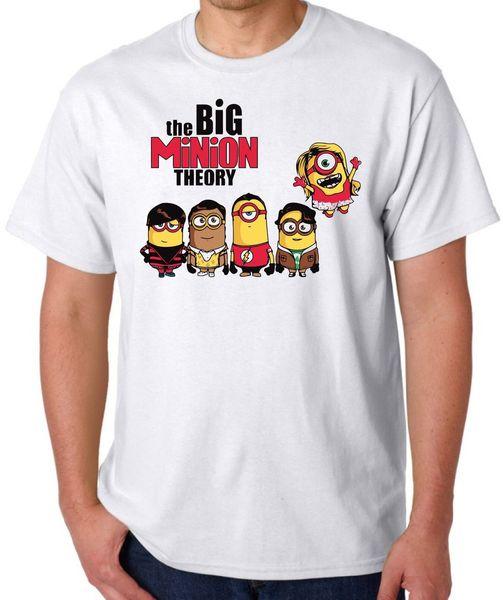 Big minion T Shirt Big Bang Theory festival mens top vest s m l xl xxl XXXL