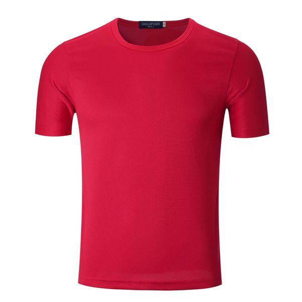 Men's Soccer jerseys Solid Color Cotton popular Soccer Wear sport fitness clothing women training running shirt kids football t shirt 06