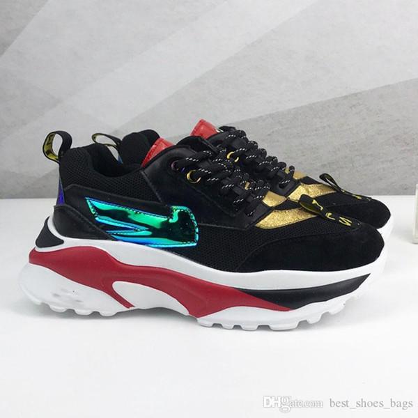 Venta al por mayor - ¡Caliente! 2018 Moda Paris 17FW Triple-S Sneaker Triple S Casual Luxury Dad Shoes para Men039; s Beige Black Sports Tennis Run