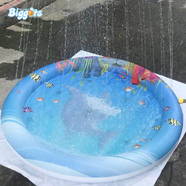 Factory Sale Summer Kids Toy Leisure Pad Inflatable Water Spray Sprinkle And Splash Play Mat For Toddler