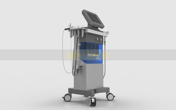 New come 5 in 1 hydra facial dermabrasion Photo dynamic red blue yellow green light color oxygen spray gun skin rejuvenation spa equipment