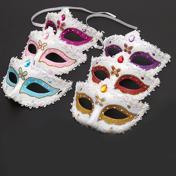 best selling Fashion girl Sexy mask Hallowmas masquerade masks with flower feather Easter dance party holiday Carnival party mask