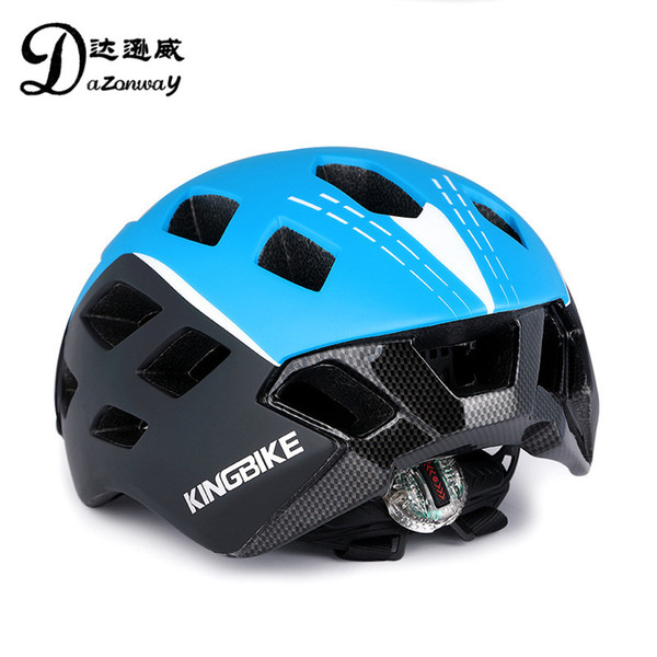 95496e6ea30d7 2019 KINGBIKE Men Women Cycling Glasses Helmet Integrated Design MTB Bike  Road Bike Bicycle Helmet WithTaillight Cycling Equipment From Yiquanwater,  ...