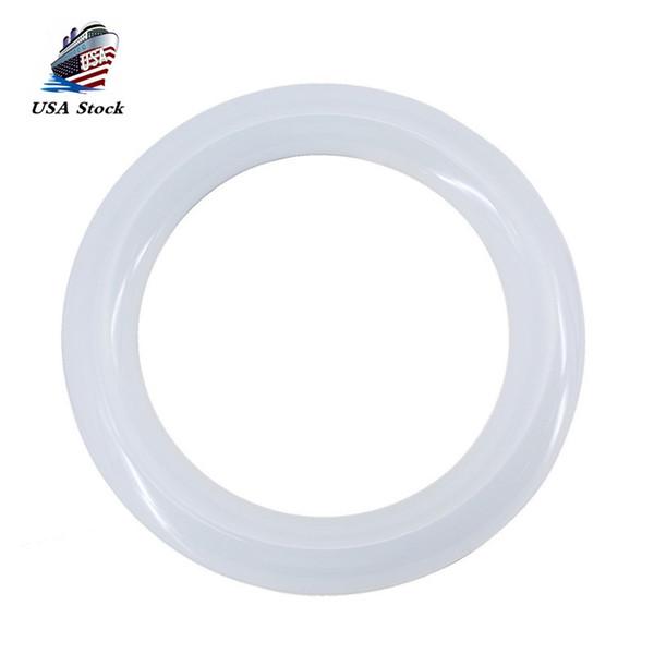 Bombilla LED de 9 luces circulares - 8 pulgadas 10W 6000K Blanco frío 1200LM 8