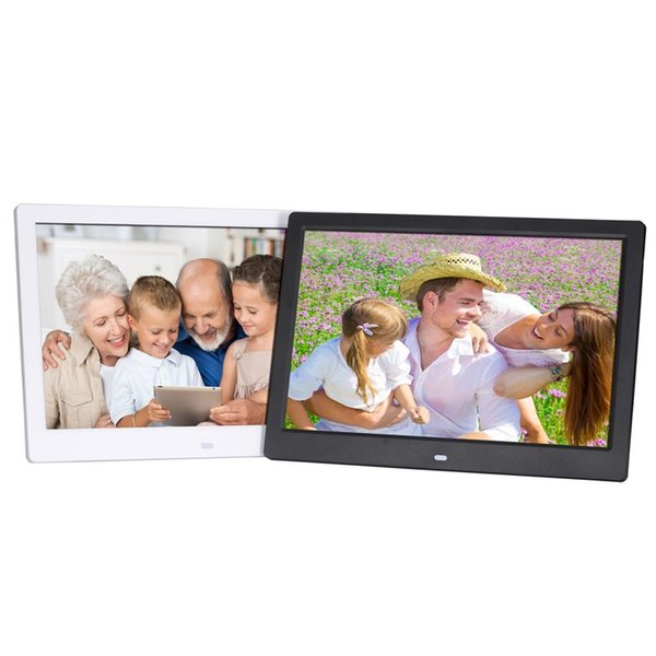 New 12-inch digital photo frame, high-definition video advertising machine, 16.5 narrow-frame remote control, electronic photo album