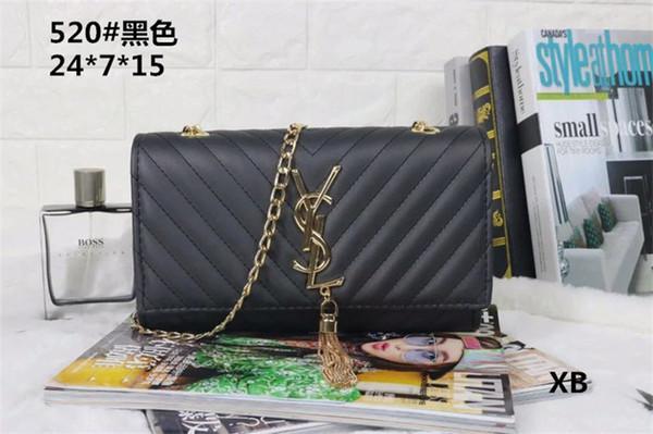 All'ingrosso della fabbrica 2019 nuova borsa croce modello in pelle sintetica shell catena borsa a tracolla Messenger Bag Fashionista YS UOMO BORSE