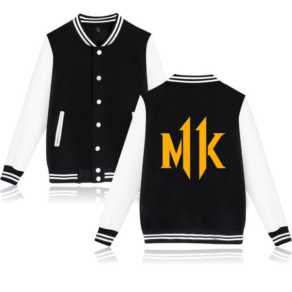 Mortal Kombat 11 Jeu Cartoon Veste Hoodies Femmes Hommes Anime Battle Harajuku Streetwear Hip Pop Veste Décontractée Vêtements