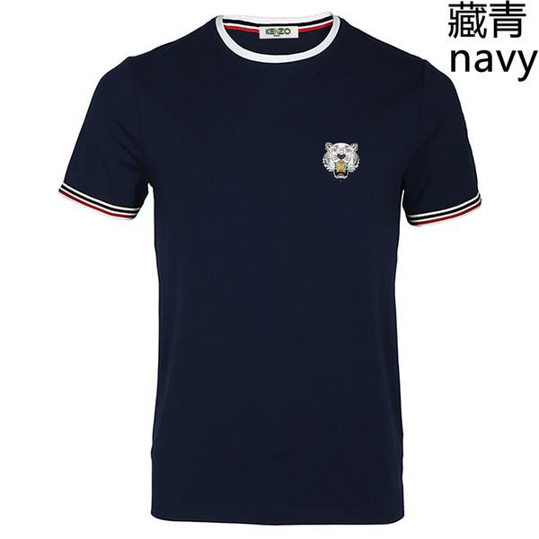 New shirt 2019 Summer Designer T Shirts For Men Tops Tiger Head Letter Embroidery T Shirt Mens Clothing Brand Short Sleeve Tshirt Women Tops