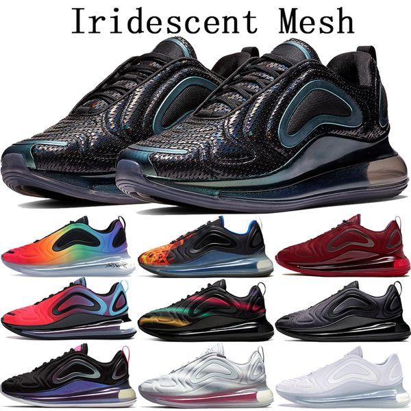 Nike air max 720 Throwback future 720 scarpe da corsa mens iridescenti luna borchie mare foresta designer scarpe da donna rosa mare tramonto scarpe da ginnastica di lusso