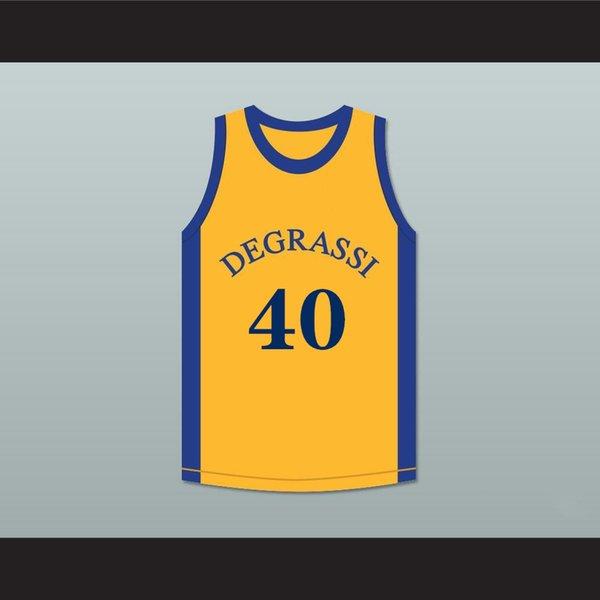 Hommes personnalisés Basketball Maillots 40-41 Hommes Broderie Logos Jersey Livraison gratuite à bas prix de gros noms de tous un nombre Taille S-XXL