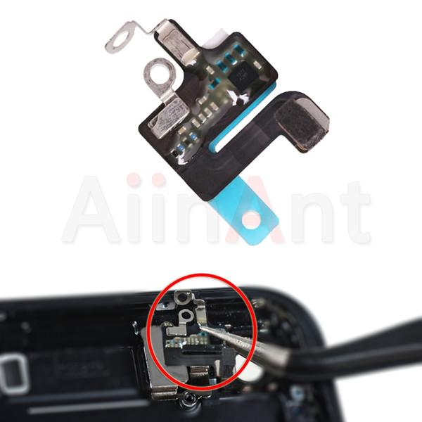 iPhone original Para 7 8 Plus Wifi Bluetooth NFC WI-FI de la señal GPS flexión de la antena de la cubierta de sustitución de cable de reparación de piezas de repuesto