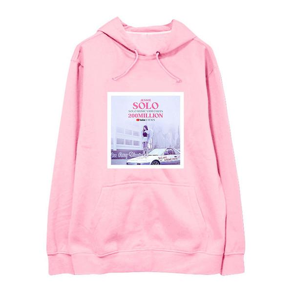 2019 Kpop Blackpink Album Solo Jennie Hooded Hoodie Pullover Sweatshirt  Harajuku Hoodies K Pop Korean Hoodie From Deborahao, $42 97 | DHgate Com