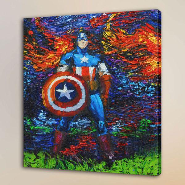Grosshandel Captain America Home Decor Hd Gedruckt Moderne Kunst