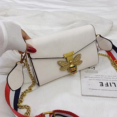 Borsa da donna Little Bee fata Fashion Magneti borse di lusso firmate Borse a tracolla Casual Borsa a tracolla Borsa a tracolla 420