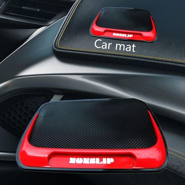 Fibre Car Series Pu Mat Silicon fibra Pu Leopard auto Forniture bagagli Mat Red Fire Poly-slip Mats Cento