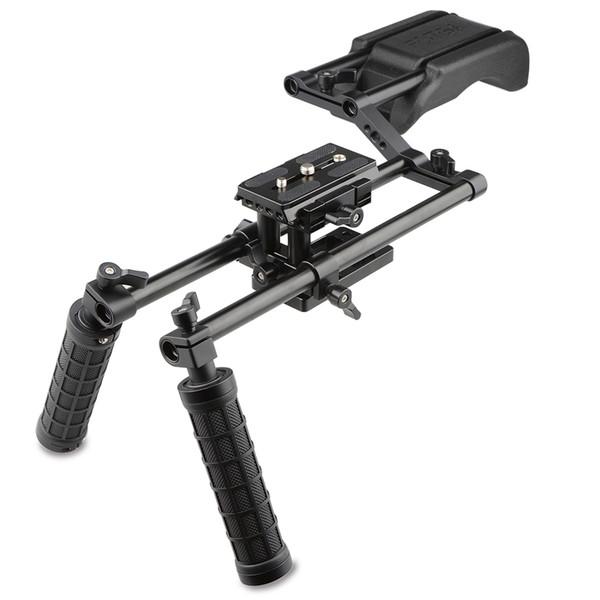 CAMVATE DSLR Rig Schulterbefestigung Movie Kit Unterstützung Stabilisator für SLR-Videokameras