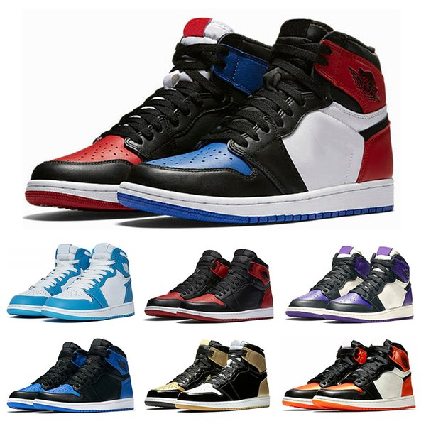 1s Blue Sneaker 7 13 Green Spiel Royal Basketballschuhe Lila Chicago Top Schwarzer Markierung Mit Größe Og Sport Herren Großhandel Court 1 Backboard 3 PZTOXwkiu