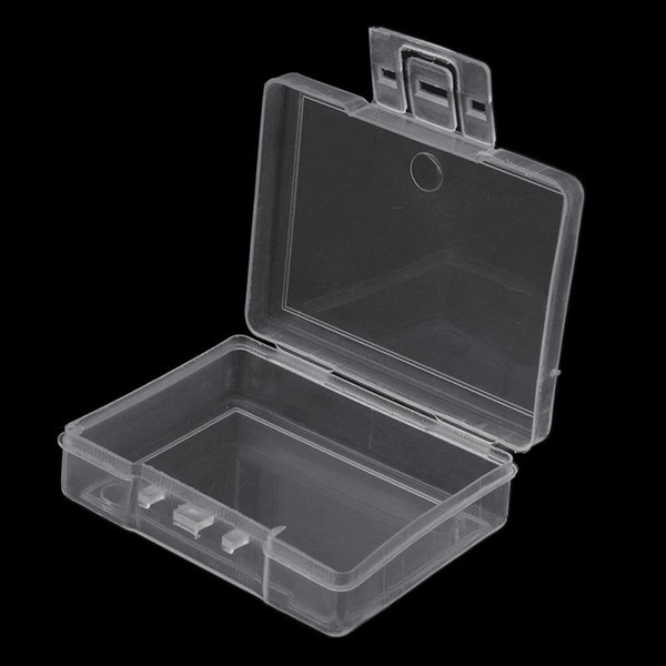 Transparent Fishing Lure Tackle Hook Bait Plastic Storage Box Container Case