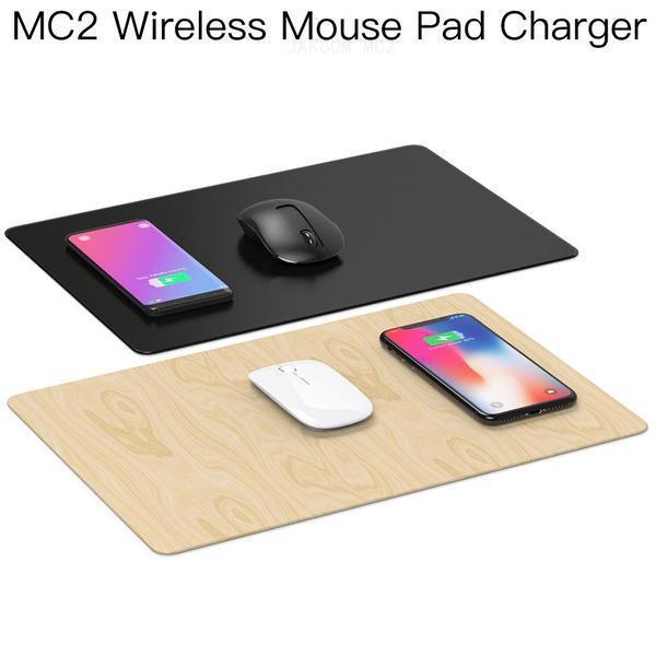 Vendita JAKCOM MC2 Wireless Mouse Pad caricatore caldo in Mouse pad poggiapolsi come alli baba com pellicola Poron Lepin