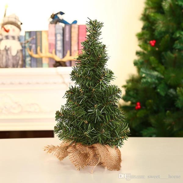 Compre 2019 Nuevo Decorar El árbol De Navidad 20 Cm Mini Escritorio Adorno Para El árbol De Navidad Tienda Escaparate Envío Gratis A 179 Del Flf719