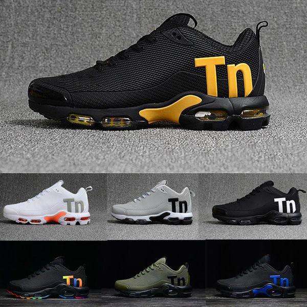 Acheter Nike Tn Plus Air Max Airmax Tns Remise Drop Shipping Célèbre Air Sport Plus Tn Ultra KPU Multicolore MERCURIAL TN Hommes Sneakers Athlétique