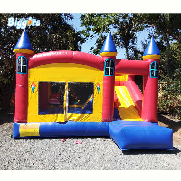 YARD Factory Price Commercial 0.55mm PVC Tarpaulin Air Jumper Inflatable Bouncy Castle Bounce House with blower