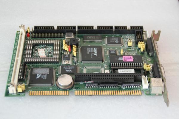 100% testado Trabalho Perfeito para Advantech pc-6145b / 45L REV 486 CPU: motherboard controle industrial B1