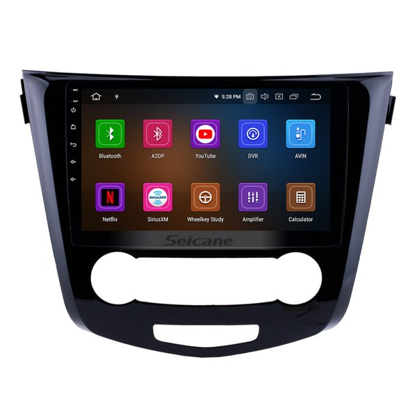10.1 inch Android 9.0 HD Touchscreen Car Stereo GPS Navigation for 2014 2015 2016 Nissan Qashqai with Music Mirror Link support car dvd TPMS