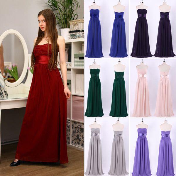 f2a4ab6298b84 Long Evening Dress Ever Pretty Elegant Sleeveless Burgundy Black Woman Maxi  Chiffon 2018 Fast Shipping Vestidos Maxi Evening Dresses Uk Navy Blue ...