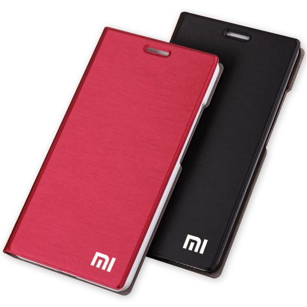 Für xiaomi mi4c telefon case luxus slim style kartensteckplatz brieftasche pu flip leder case für xiaomi mi 4c / 4i abdeckung tasche