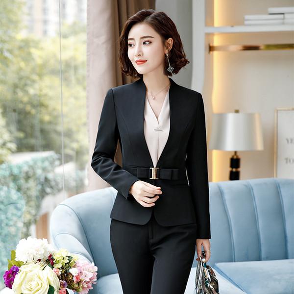 Черное пальто и брюки