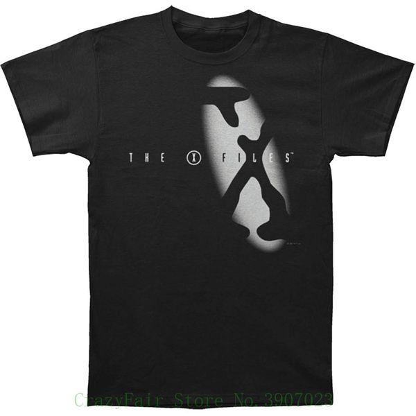 Spotlight Tv Show Logo - Футболка для взрослых The X Files Летняя футболка Бренд Фитнес Бодибилдинг