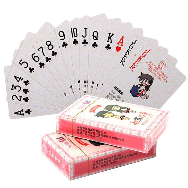 Новый взрослый секс игрушки игрушки Покер Пары Flirt Интерактивное аниме Fun карточные игры HD Edition Покер Розничная и оптовая поддержка