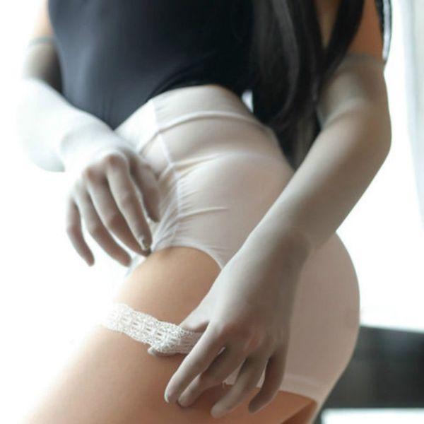 Smooth collant collant calze velate senza soluzione di continuità lungo guanto di lusso a prezzi accessibili Nero Bianco Beige