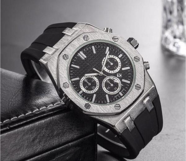 Top marke Große Größe Uhr Männer Luxus Designer automatische Datum kalender gold Armbanduhr Sport stil Militär silikon Große digitale Männliche Uhr