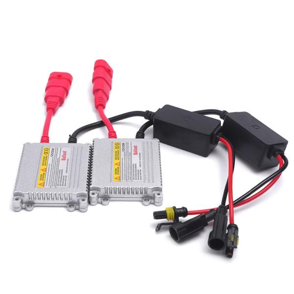2 pz 12V hid xenon zavorra 35 W digitale slim hid zavorra 35 w blocchetto di accensione elettronico per kit xeno H7 H4 H1 H3 H11