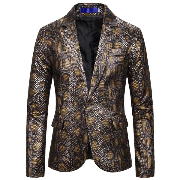 Ouro Snakeskin Suit