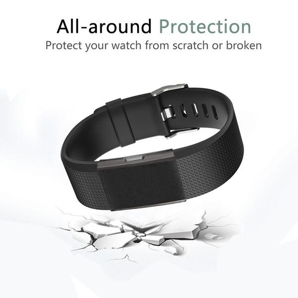 Новый Высококачественный Ультратонкий Мягкий ТПУ Защитный Силиконовый Чехол Чехол Для Fitbit Charge 2 Ver pelicula protectora # 10