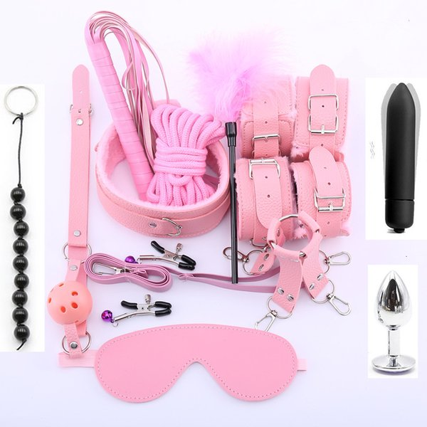 5leather 13pcs pink