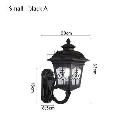 small black A