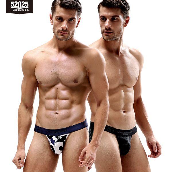52025 hommes sous-vêtements jockstrap culottes pour hommes sous-vêtements en coton sexy hommes sous-vêtements respirant mens culottes bikini string jock sangle