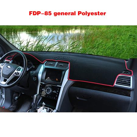 FDP-85 General Black Polyester Bord rouge