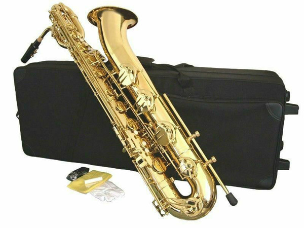 2019 YANAGISAWA New Baritone Saxophone Brass Gold Lacquer E Flat Musical  Instruments Sax With Mouthpiece Canvas Case From Wu880126, $1320 61 |